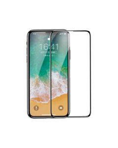 Folie Sticla Securizata Premium 5d Baseus iPhone X Full Glue ,full Cover-folie Camera Nano Glass Inclusa