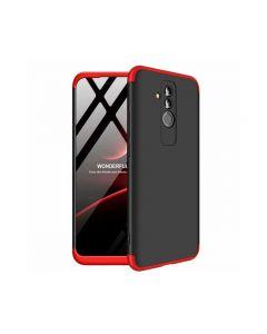 Husa 360 Grade Upzz Protection Huawei Mate 20 Lite Negru-rosu