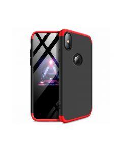 Husa 360 Grade Upzz Protection iPhone Xs Max Red-negru