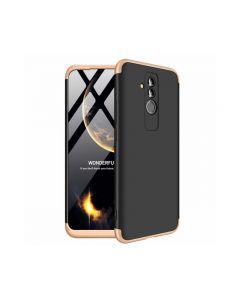 Husa 360 Grade Upzz Protection Huawei Mate 20 Lite Negru-gold