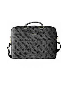Husa Geanta Premium Originala Guess Macbook Air / Pro 15 Inch Grey Unisex Gucb154gg