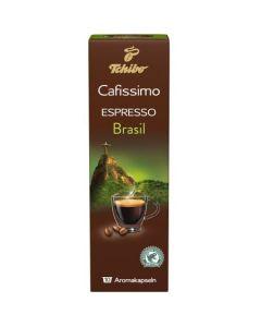 Capsule Tchibo Cafissimo Espresso Brasil, 10 Capsule, 80 g