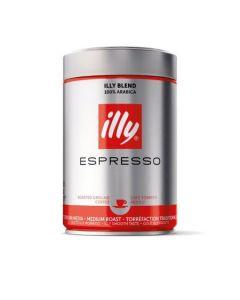Cafea macinata espresso, illy 250g