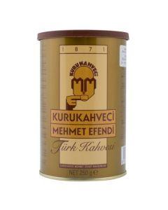 Cafea turceasca fin macinata Mehmet Efendi, cutie metalica, 250 g