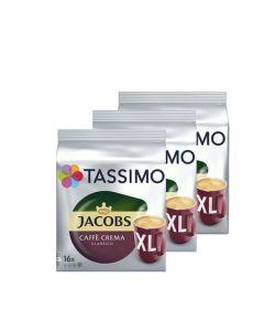 Set 3 x Capsule Jacobs Tassimo Caffe Crema Classico XL, 398.4 g