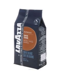 Cafea boabe Lavazza Super Crema, 1 kg