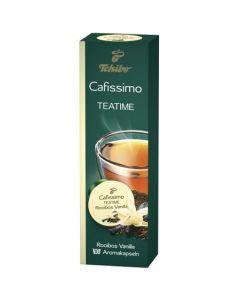 Capsule ceai Tchibo Cafissimo Teatime Rooibos Vanilla, 10 Capsule, 25 g