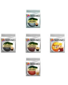 Set 5xCapsule Jacobs Tassimo diverse sortimente