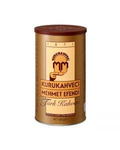 Cafea turceasca fin macinata Mehmet Efendi, cutie metalica, 500 g