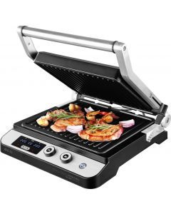 Contact grill ECG KG 1000 Gourmet, 1650–2000 W, 2 termostate independente