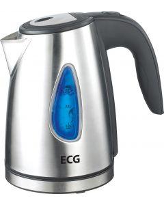 Cana electrica fierbator ECG RK 1040, 1630 W, 1 L, otel inoxidabil