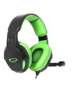 Casti Advanced Gaming COBRA EGH350G Hi-Fi sound, perne soft, cu microfon si volum control