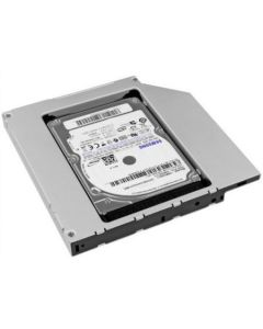 Rack HDD Caddy SATA Nelbo HDD/SSD pentru montarea unui al 2-lea HDD / SSD in laptop 12.5mm RETAIL