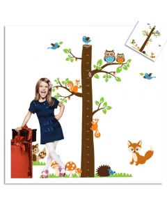 Sticker perete Grow up - Forest 182 x 180 cm