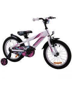 """Bicicleta copii Passati Gerald alb 16"""""""