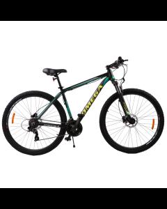 "Bicicleta mountainbike Omega Duke 27.5"", cadru 49cm, 2019 negru/verde/galben"