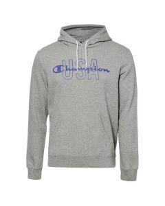Hanorac barbati Champion Hooded Sweatshirt gri