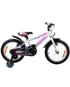"Bicicleta copii Omega Master 20"" alb 2019"