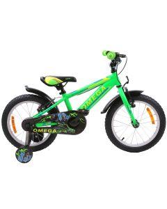 "Bicicleta copii Omega Master 16"" verde 2018"