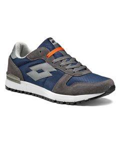 Pantofi sport barbati Lotto RECORD X albastru/gri