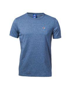 Tricou Champion Crewneck T-Shirt albastru, XXL
