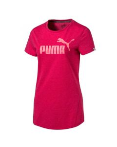Tricou femei Puma ESS No.1 Tee Heather W roz