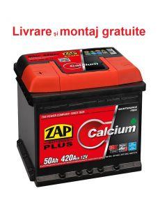 Baterie auto Zap Plus 50Ah inversa