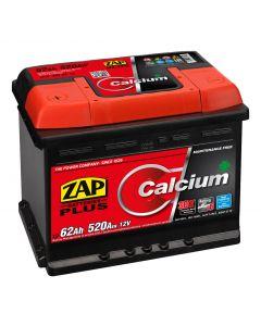 Baterie auto Zap Plus 62Ah inversa