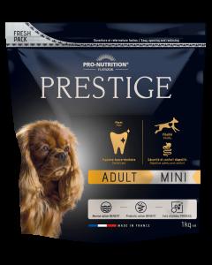 Hrana uscata pentru caini adulti de talie mica, Prestige Adult Mini, 1 kg