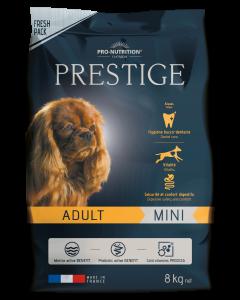 Hrana uscata pentru caini adulti de talie mica, Prestige Adult Mini, 8 kg