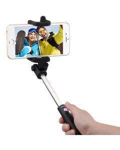 Selfiestick bluetooth, Mpow iSnap X, Pink