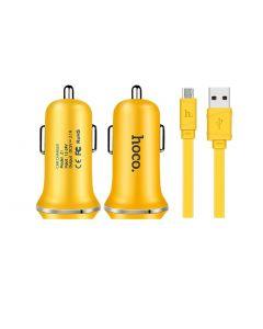 Incarcator auto, Hoco, Z1, 1.5 A, cablu micro USB