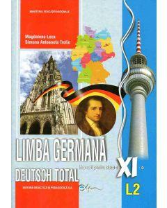 Limba germana L2. Manual pentru clasa a XI-a