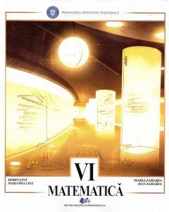Matematica manual pentru clasa a VI-a, autor Dan Zaharia