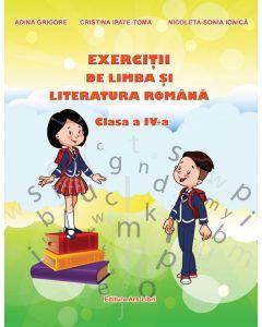 Exercitii de Limba si literatura romana. Clasa a IV-a