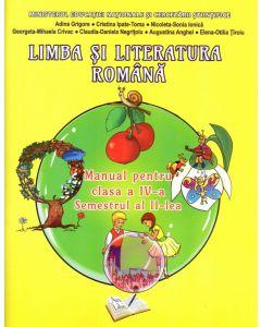 Limba si literatura romana. Manual pentru clasa a IV-a semestrul 2