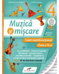 Muzica si miscare caiet cls a IV-a (dupa manual cdp)