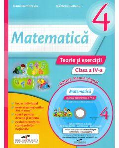 Matematica caietul elevului clasa a IV-a (contine CD )
