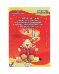 Teste de evaluare (descriptori de performanta) - Clasa a II-a. Comunicare in limba romana, Matematica si explorarea mediului, Dezvoltare personala