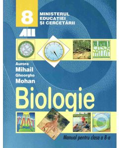 Biologie. Manual pentru clasa a VIII-a (Mohan)