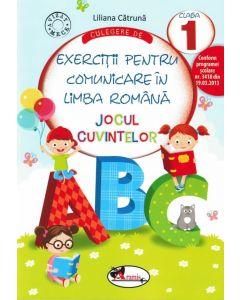 Jocul cuvintelor. Culegere de exercitii pentru comunicare in limba romana clasa I