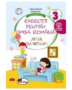Culegere de exercitii pentru limba romana JOCUL CUVINTELOR, clasa a III-a