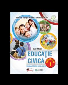 Educatie civica. Manual pentru clasa a III-a, partea I + partea a II-a (contine editie digitala) Autor Olga Piriiala