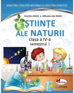 Stiinte ale naturii. Manual pentru clasa a IV-a, partea I + partea a II-a (contine editie digitala)