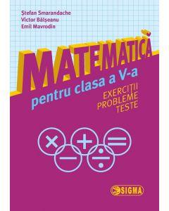 Matematica pentru clasa a V-a. Exerciții. Probleme. Teste