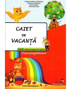 Caiet pentru vacanta Clasa Pregatitoare