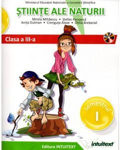 Stiinte ale naturii. Manual pentru clasa a III-a. Semestrul I + II (editie tiparita+editie digitala)