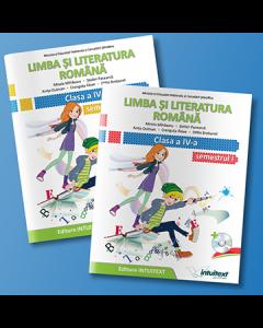 Limba si literatura romana. Manual pentru clasa a IV-a. Semestrul I + II