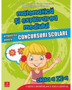 Matematica si explorarea mediului. Pregatirea pentru concursuri scolare. Clasa a II-a