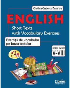 Engleza. Exercitii de vocabular pe baza textelor